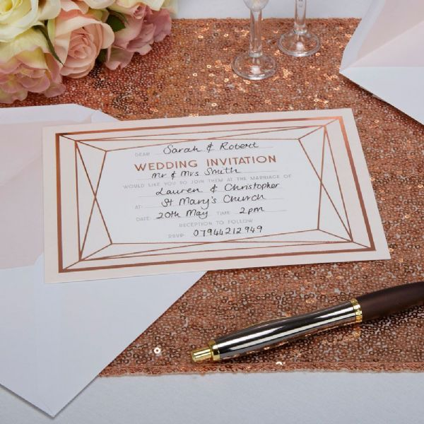 Geo Blush Wedding Invitations (10)